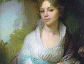 В. Боровиковский портрет М. Лопухиной